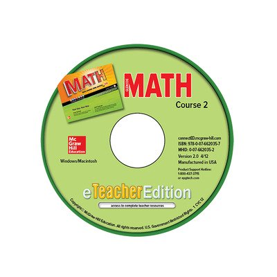 Glencoe Math, Course 2, eTeacherEdition CD-ROM