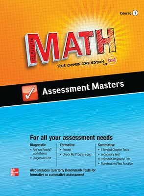 Glencoe Math, Course 1, Assessment Masters