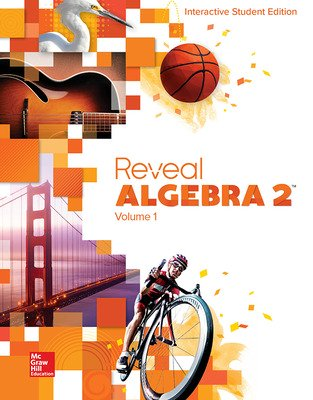 Reveal Algebra 2, Interactive Student Edition, Volume 1
