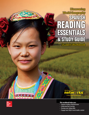 Discovering World Geography, Spanish Reading Essentials and Study Guide, Student Workbook