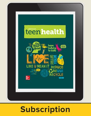 Teen Health Teacher Access, 6-year Subscription