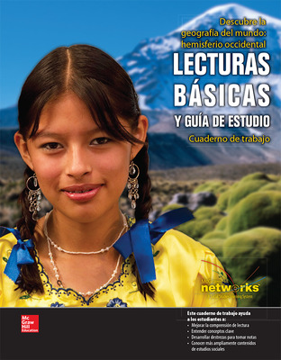 Discovering World Geography, Western Hemisphere, Spanish Reading Essentials and Study Guide, Student Workbook