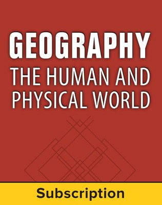 Geography: The Human and Physical World, Student Suite, 6-Year Subscription