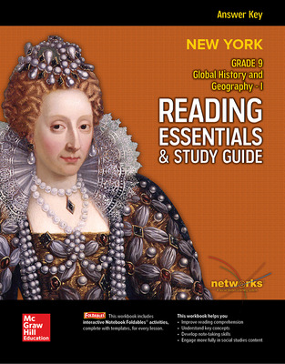 New York, Global History and Geography I, Reading Essentials & Study Guide, Answer Key
