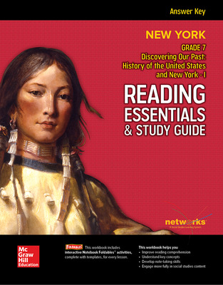 Discovering Our Past: A History of the United States, New York I, Reading Essentials & Study Guide, Answer Key