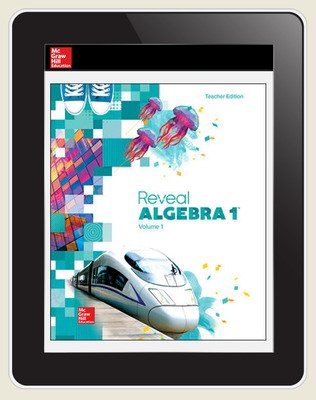 Reveal Algebra 1, Teacher Digital License, 1-year subscription