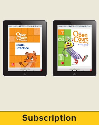Open Court Reading Foundational Skills Kit Single Class License, 3-year subscription Grade 1