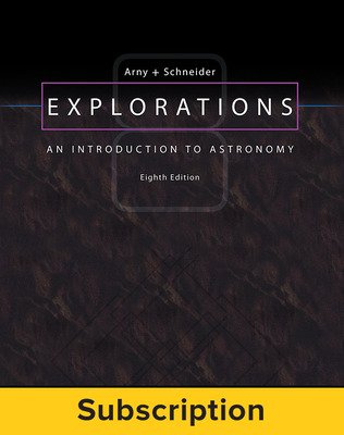Arny, Explorations: An Introduction to Astronomy, 2017, 8e, Standard Student Bundle (Student Edition with Connect), 1-year subscription