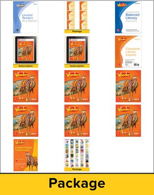 Wonders Balanced Literacy, Grade 3 Comprehensive Package, 6-year subscription