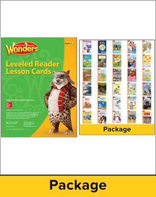 Wonders Balanced Literacy Gr 4 Leveled Reader packages