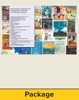 Wonders Balanced Literacy, Gr 5, Trade Book Package with Cards