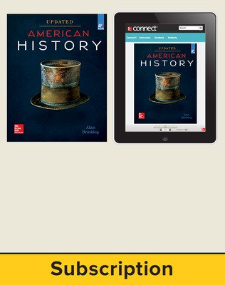 Brinkley, American History: Connecting with the Past UPDATED AP Edition, 2017, 15e, Standard Student Bundle, 6-year subscription (Student Edition with Connect)