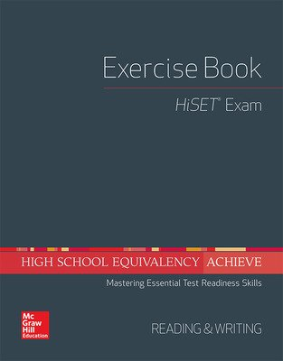 High School Equivalency Achieve, HiSET Exercise Book Reading and Writing