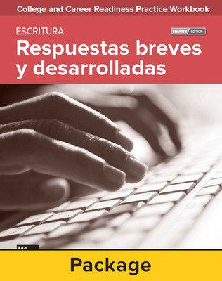 College and Career Readiness Skills Practice Workbook: Extended Response and Short Answers Spanish Edition, 10-pack