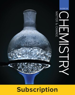 Glencoe Chemistry Matter & Change, Complete Student Bundle, 6-year subscription