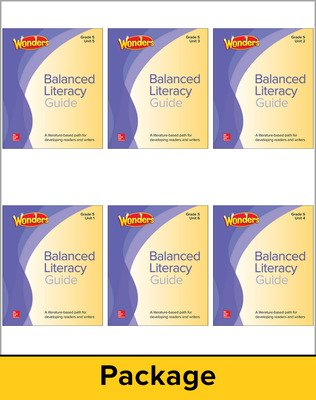 Wonders Balanced Literacy  Teacher Guide Package, Grade 5