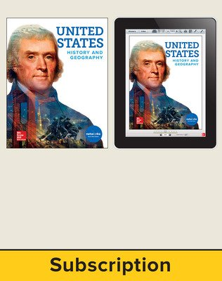 United States History and Geography, Student Suite with LearnSmart Bundle, 6-year subscription