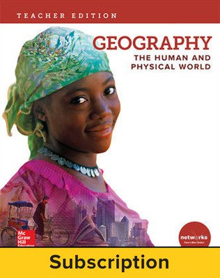 Geography: The Human and Physical World, Teacher Suite with LearnSmart Bundle, 6-year subscription