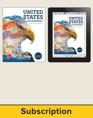 United States Government: Our Democracy, Student Suite with LearnSmart Bundle, 6-year subscription