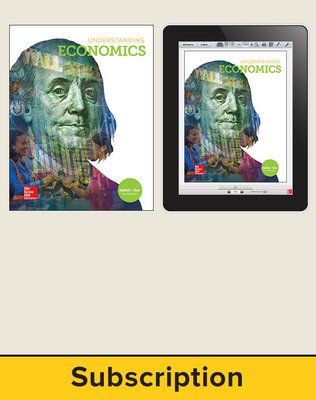 Understanding Economics, Student Suite with LearnSmart Bundle, 6-year subscription