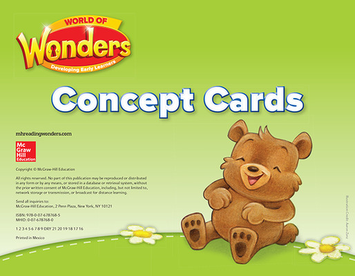 World of Wonders Concept Picture Cards