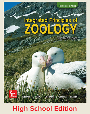 Hickman, Integrated Principles of Zoology, 2017, 17e (Reinforced Binding) Student Edition