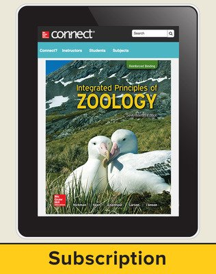 Hickman, Integrated Principles of Zoology, 2017, 17e, Connect®, 1-year subscription