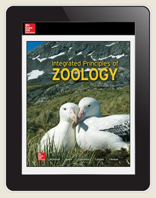 Hickman, Integrated Principles of Zoology © 2017, 17e (Reinforced Binding) ConnectED eBook, 6-year subscription