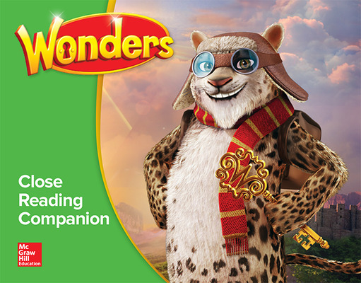 Wonders, Grade 4, Close Reading Companion Classroom Set