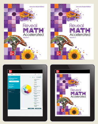 Reveal Math Accelerated, Student Bundle with ALEKS.com, 6-year subscription
