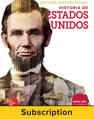 Discovering Our Past: A History of the United States, Spanish Student Suite Bundle, 1-year subscription