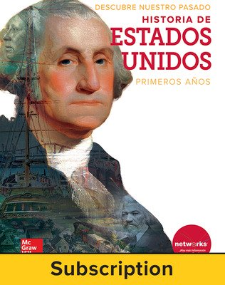 Discovering Our Past: A History of the United States-Early Years, Spanish Student Suite Bundle, 1-year subscription