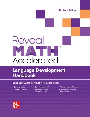 Language Development Handbook, Reveal Math Accelerated, Student Edition