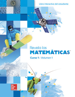 Reveal Math, Course 1, Spanish Interactive Student Edition, Volume 1