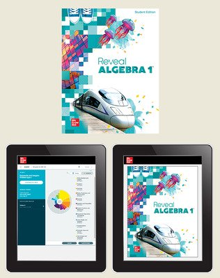 Reveal Algebra 1, Student Hardcover Bundle with ALEKS.com, 1-year subscription