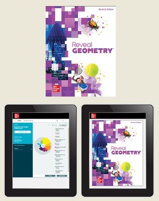 Reveal Geometry, Student Hardcover Bundle with ALEKS.com, 6-year subscription