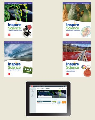 Inspire Science: Integrated G6 Comprehensive Student Bundle 1-year subscription
