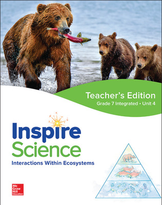 Inspire Science: Integrated G7 Teacher Edition Unit 4