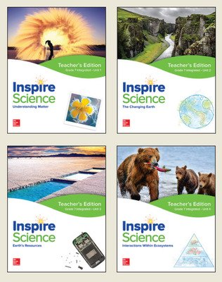 Inspire Science: Integrated G7 Teacher Edition 4 Unit Bundle