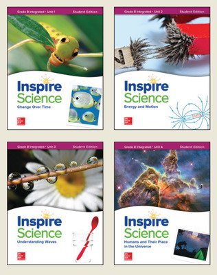 Inspire Science: Integrated G8 Student Edition 4-Unit Bundle