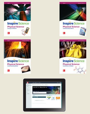 Inspire Science: Physical Comprehensive Student Bundle 1-year subscription