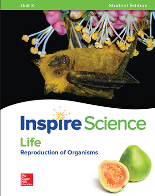 Inspire Science: Life G7 Write-In Student Edition Unit 3