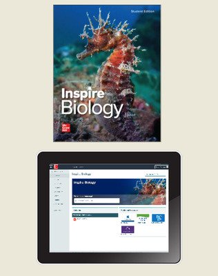 Inspire Science: Biology, G9-12 Comprehensive Student Bundle, 6-year subscription