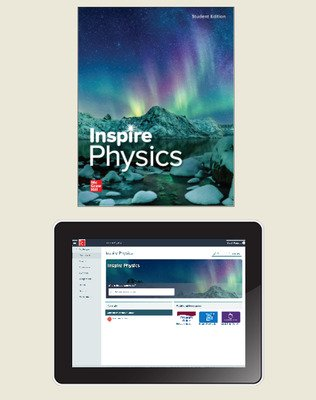 Inspire Science: Physics, G9-12 Comprehensive Student Bundle, 1-year subscription
