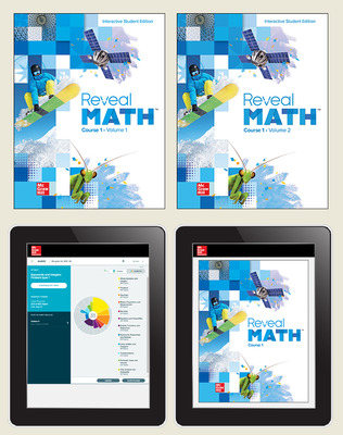 Reveal Math Course 1, Student Bundle with ALEKS.com, 6-year subscription