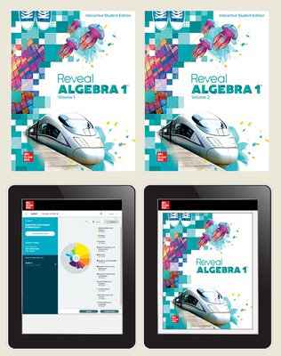 Reveal Algebra 1, Student Bundle with ALEKS.com, 1-year subscription