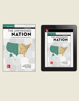 Brinkley, The Unfinished Nation, 2019, 9e, Student Bundle (Student Edition with Online Student Edition), 1-year subscription