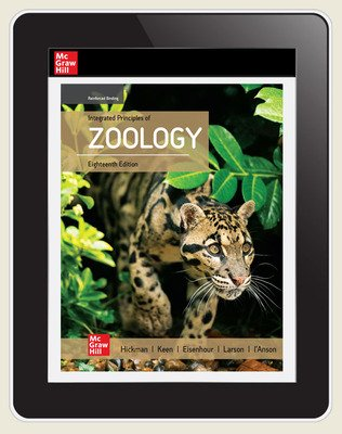 Hickman, Integrated Principles of Zoology, 2020, 18e, Online Student Edition, 1 yr subscription