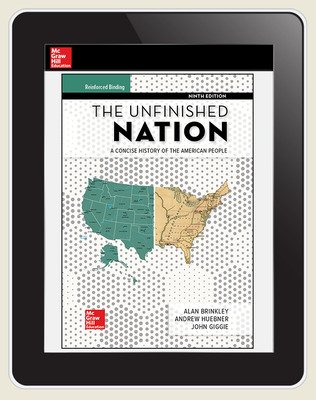 Brinkley, The Unfinished Nation, 2019, 9e, AP advantage Digital Student Subscription (ONboard, Online Student Edition, SCOREboard), 1-year subscription