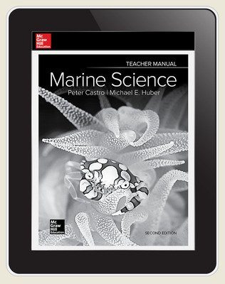 Castro, Marine Science, 2019, 2e, Online Teacher Edition, 6 yr subscription